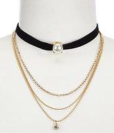 Anna & Ava Victoria Multi-Strand Choker Necklace