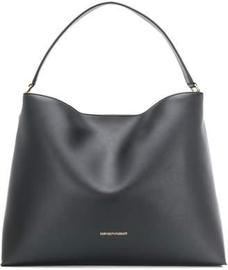 Emporio Armani slouchy leather tote
