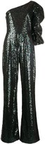 Saloni sequin jumpsuit all-in-one