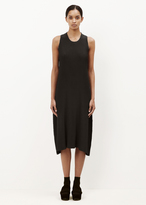 Issey Miyake black earth pleats dress