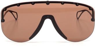 Gucci Studded Mask Sunglasses