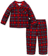 Little Me 2-Pc. Plaid Pajama Set, Baby Boys (0-24 months)