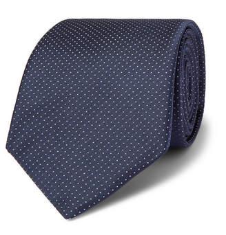 HUGO BOSS 8cm Pin-Dot Silk-Twill Tie