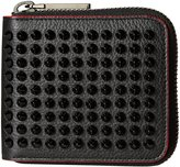 Christian Louboutin Panettone Zipped Compact Wallet (Women) - Black - One Size