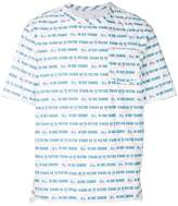 Sacai All in Due Course print T-shirt