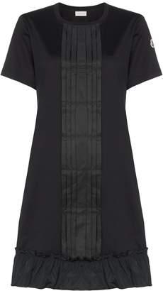 Moncler ruffle detail dress