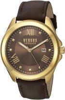 Versus By Versace Women's Elmont SBE020015 Leather Quartz Watch