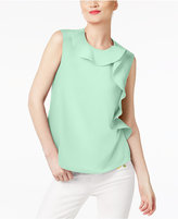 Cynthia Rowley CR By Ruffled Top, Created for Macy's