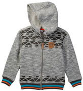 Petit Lem Desert Adventure Knit Hoodie (Toddler & Little Boys)