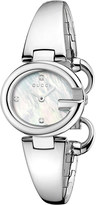 Gucci YA134504 Guccissima stainless steel and diamond watch
