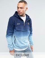 Ellesse Overhead Jacket In Dip Dye