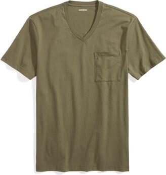 Goodthreads Men's Short-sleeve V-neck Cotton Pocket T-shirt T-Shirt