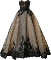 Mikael D. strapless ball gown