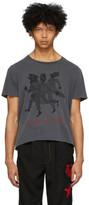 Worstok Grey Gang of Three Rocker T-Shirt