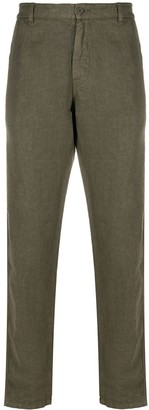 Aspesi Straight-Leg Linen Trousers