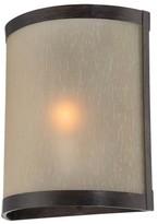 Lite Source Zerlam Sconce Wall Light - Brown