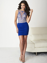 Hannah S - Lavishly Ruched Fitted Cocktail Dress 27137