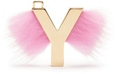 Fendi ABClick letter 'Y' key charm