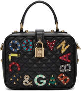 Dolce & Gabbana Black Quilted Box Bag