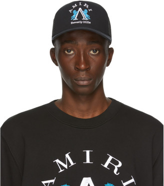 Amiri Black Beverly Hills Cap