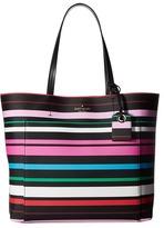 Kate Spade Harding Street Stripe Riley Handbags