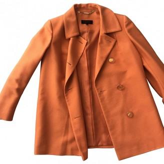 Escada Orange Silk Coat for Women