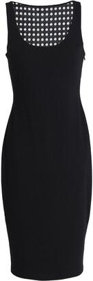 Bailey 44 Mesh-paneled Laser-cut Stretch-jersey Dress