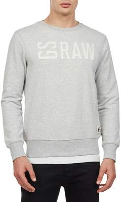G Star Raw Graphic 17 Cotton-Blend Loose Tee