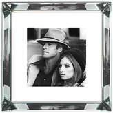 Rob-ert Brookpace, The Manhattan Collection - Robert Redford and Barbra Streisand Framed Print, 46 x 46cm