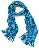 Old Navy Patterned Performance Fleece Fringed Scarf for Girls