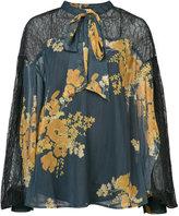 Sachin + Babi Vaja floral-print blouse