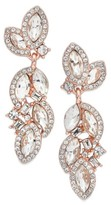 Nina Women's Romantic Crystal Drop Earrings