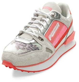Puma Women's Mile Rider Wave Suede & Mesh Sneakers