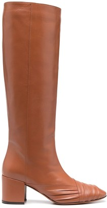 Missoni Knee-High Leather Boots
