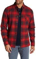 AG Jeans Standard Fit Casual Flannel Button Down Shirt