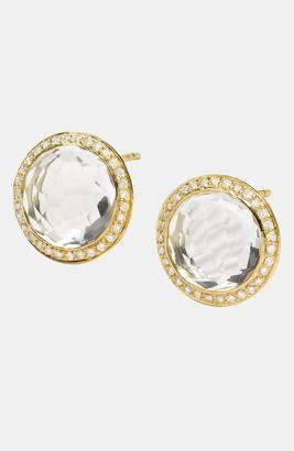 Ippolita 'Lollipop' Diamond & 18k Gold Earrings