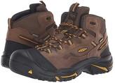 Keen Braddock Mid Soft Toe Waterproof (Cascade Brown/Tawny Olive) Men's Work Boots