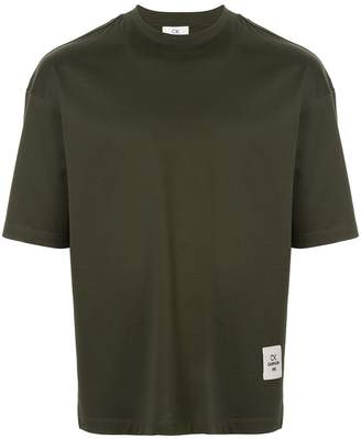 CK Calvin Klein logo patch T-shirt