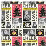 Minted Retro Album Personalized Wrapping Paper