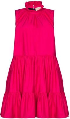 Roksanda High-Neck Panelled Dress