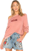 Wildfox Couture Rose Sweatshirt