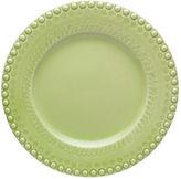 One Kings Lane Fantasy Dinner Plate, Bright Green