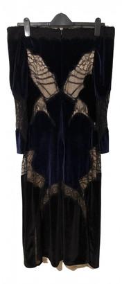 Jonathan Simkhai Navy Velvet Dresses