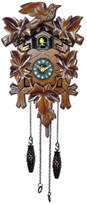 Cambridge Silversmiths Traditional Cuckoo Clock with Leaves and Bird