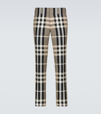Burberry Checked pants