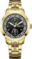 JBW Women's Lumen 0.06 ctw Diamond 18k gold-plated stainless-steel Watch J6341D