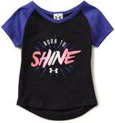 Under Armour Little Girls 2T-6X Born To Shine Short-Sleeve Tee