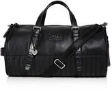 John Varvatos Perforated Leather Duffel Bag