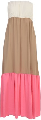 Semi-Couture SEMICOUTURE Saint Tropez Crepe Gerogette Dress