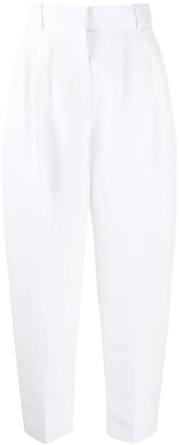 Alexander McQueen Cropped Balloon Trousers